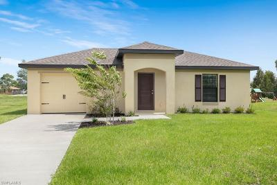 Fort Myers Single Family Home For Sale: 824 Umber Dr