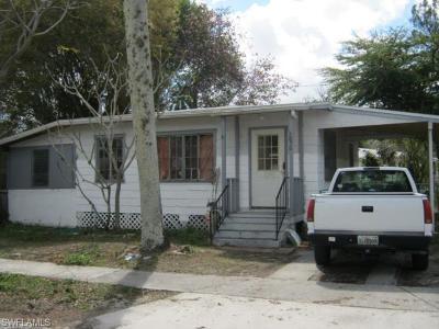 Fort Myers Single Family Home For Sale: 2030 Kurtz St