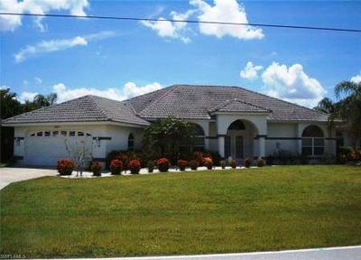 Cape Coral Single Family Home For Sale: 3925 Oasis Blvd