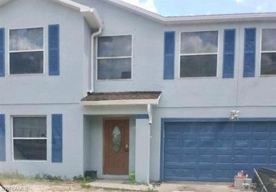 Lehigh Acres Single Family Home For Sale: 3215 17th St W