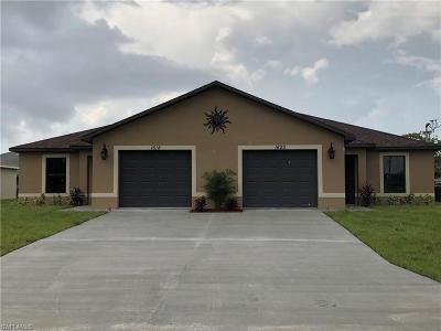 Cape Coral Multi Family Home For Sale: 4612 SW 8th Ct