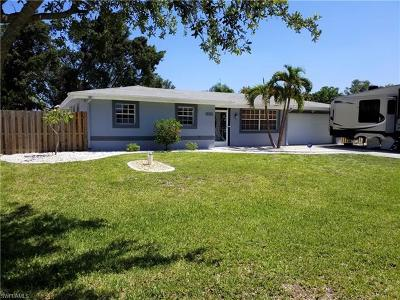 Fort Myers Single Family Home For Sale: 1609 N Mayfair Rd