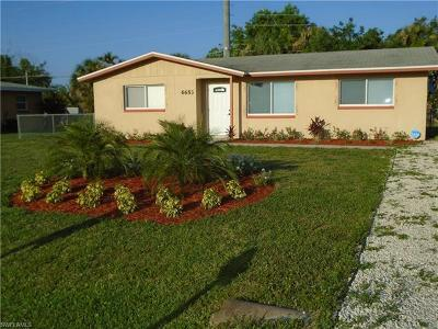 Fort Myers Single Family Home For Sale: 6653 E Tropicana Dr