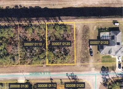 Lee County Residential Lots & Land For Sale: 1157 Damen St E
