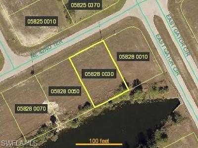 Lee County Residential Lots & Land For Sale: 1906 NE 42nd Ter