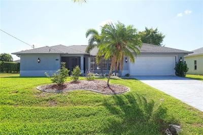 Cape Coral Single Family Home For Sale: 4413 SW 25th Ct