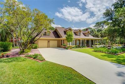 North Fort Myers Single Family Home For Sale: 18301/311 Panther Trail Ln