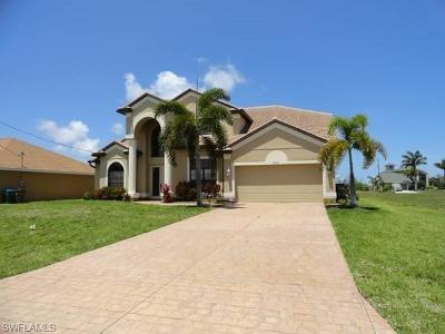 Bonita Springs, Cape Coral, Estero, Fort Myers, Fort Myers Beach, Lehigh Acres, Marco Island, Naples, Sanibel, Captiva Single Family Home For Sale: 2712 NW 45th Pl