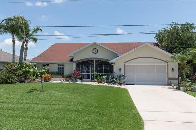 Cape Coral Single Family Home For Sale: 4129 SW 20th Ave