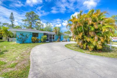 Naples Single Family Home Pending With Contingencies: 4480 Parrot Ave