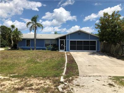Cape Coral Single Family Home For Sale: 420 NW 1st Ln