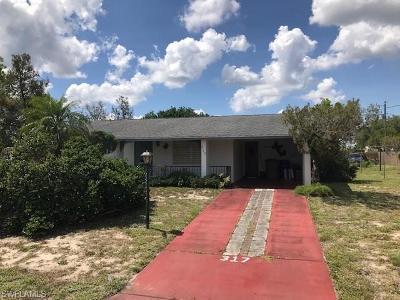 Lehigh Acres Single Family Home For Sale: 317 Morgan Cir N