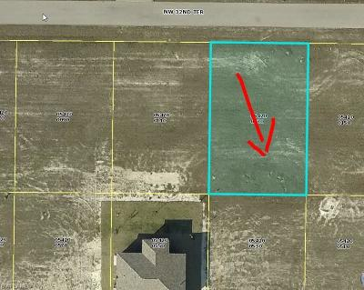 Cape Coral Residential Lots & Land For Sale: 4222 NW 32nd Ter