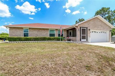 Lehigh Acres Single Family Home For Sale: 870 Grant Blvd
