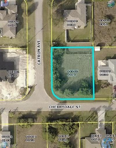 Fort Myers Residential Lots & Land For Sale: 14131 Cherrydale St