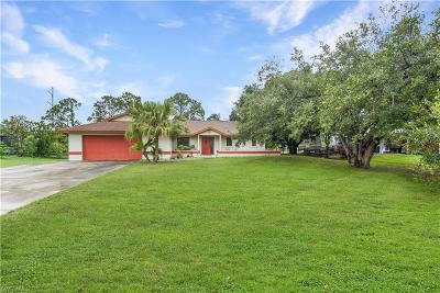North Fort Myers Single Family Home For Sale: 17942 Leetana Rd