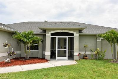 Cape Coral Single Family Home For Sale: 1905 SW 27th Ter