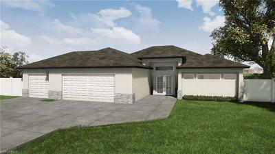 Cape Coral Single Family Home For Sale: 3413 NW 18th St