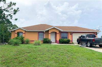 Lehigh Acres Single Family Home For Sale: 2802 19th St SW