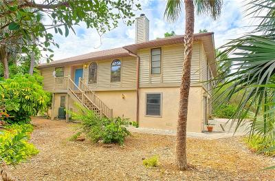 Sanibel Single Family Home For Sale: 6065 Dinkins Lake Rd