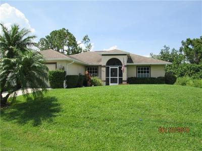 Lehigh Acres Single Family Home For Sale: 2804 8th St W