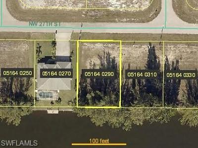 Cape Coral Residential Lots & Land For Sale: 4122 NW 27th St