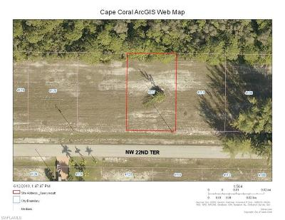 Cape Coral Residential Lots & Land For Sale: 4117 NW 22nd Ter