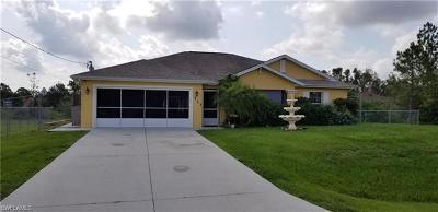 Lehigh Acres Single Family Home For Sale: 733 La Plata Ave