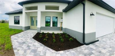 Cape Coral Single Family Home For Sale: 1734 NW 24th Ave
