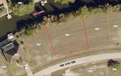 Cape Coral Residential Lots & Land For Sale: 1825 NW 13th Ter