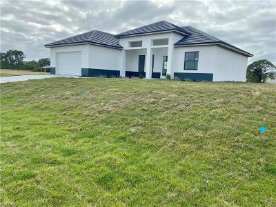 Cape Coral Single Family Home For Sale: 1122 Chiquita Blvd N