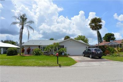 North Fort Myers Single Family Home For Sale: 6340 P G A Dr