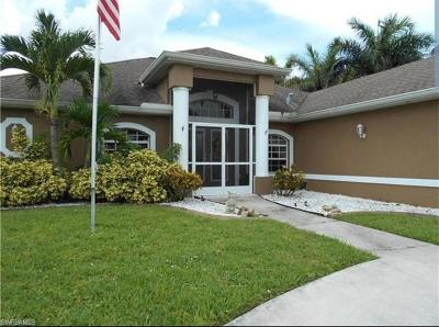 Cape Coral Single Family Home For Sale: 902 SE 41st St