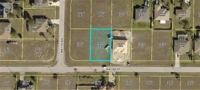 Cape Coral Residential Lots & Land For Sale: 423 NW 9th St
