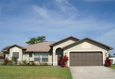 Cape Coral Single Family Home For Sale: 4120 SW 16th Pl