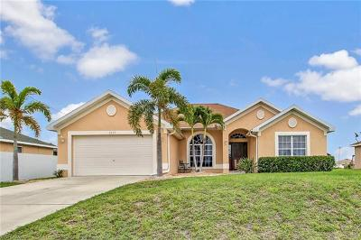 Cape Coral Single Family Home For Sale: 1417 NW 16th Pl