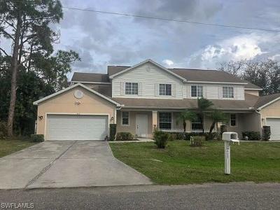 Lehigh Acres Condo/Townhouse For Sale: 825 Eisenhower Blvd