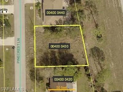 Bonita Springs Residential Lots & Land For Sale: 27257 Pinecrest Ln