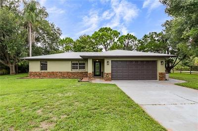 Fort Myers Single Family Home For Sale: 4526 Skates Cir