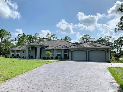 Cape Coral Single Family Home For Sale: 3100 El Dorado Blvd N