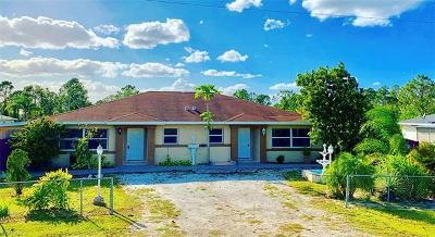 Fort Myers Multi Family Home For Sale: 1248 Columbus Blvd #A