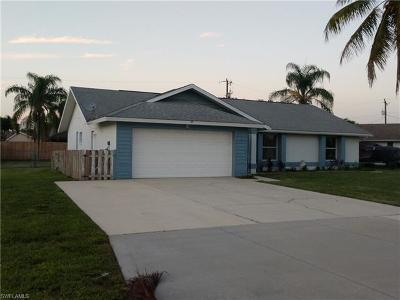 Cape Coral Single Family Home For Sale: 209 SW 10th Ter