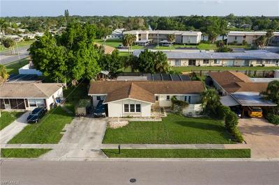 North Fort Myers Single Family Home For Sale: 1907 Longfellow Dr