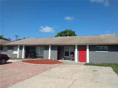 Cape Coral Multi Family Home For Sale: 4516 Orchid Blvd