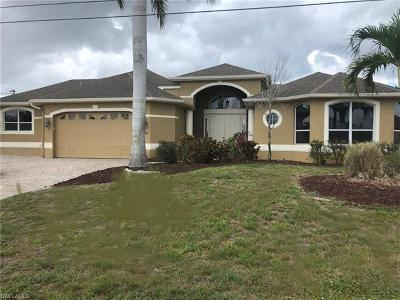Cape Coral Single Family Home For Sale: 4417 SW 18th Pl