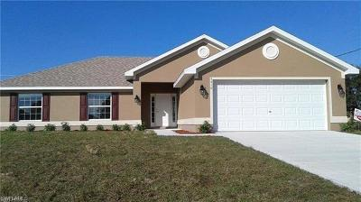 Lehigh Acres Single Family Home For Sale: 3201 1st St SW