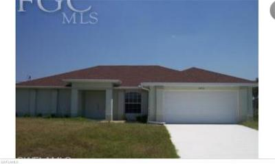 Lehigh Acres Single Family Home For Sale: 1828 Tomaso Ave