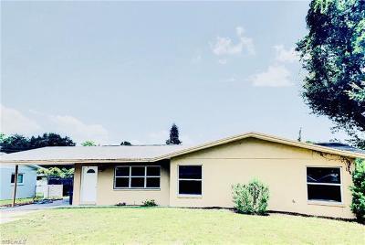 Fort Myers Single Family Home For Sale: 2431 Ephraim Ave