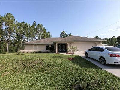 Lehigh Acres Single Family Home For Sale: 1407 W 15th St
