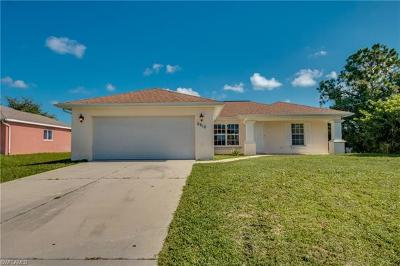 Lehigh Acres Single Family Home For Sale: 2910 65th St W